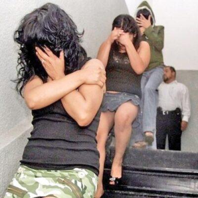 Rescatan a tres extranjeras que eran explotadas sexualmente en la CDMX