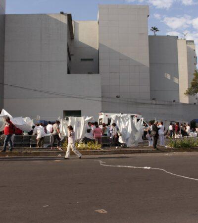 Camas son insuficientes en hospital del ISSSTE en la CDMX