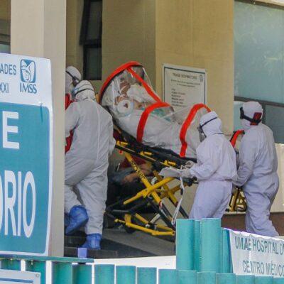 México acumula 14 mil 020 casos activos y 7 mil 633 decesos por COVID-19