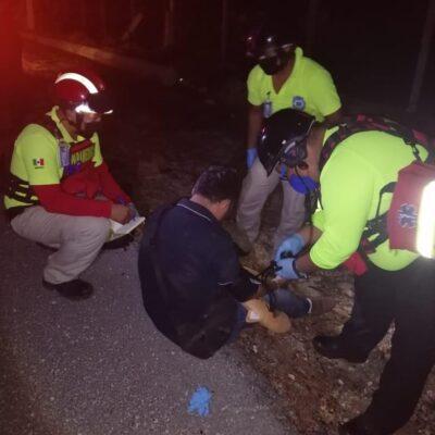 Muere motociclista tras ser embestido por conductor ebrio en la carretera Playa-Tulum