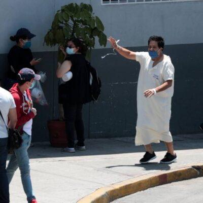 MÁS MIEDO AL COVID-19 QUE AL INFARTO: Escapa de hospital porque lo internaron en área confinada