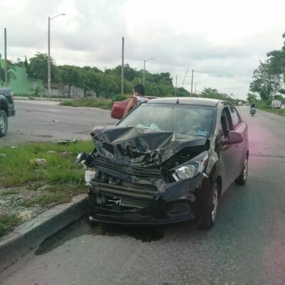 Arranca el fin de semana con accidentes en Cancún