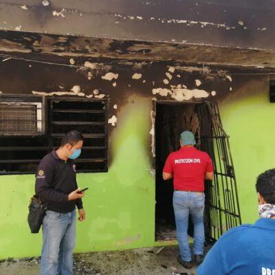 ESTALLIDO EN LA COLONIA EJIDAL DE PLAYA: Explotan 11 tanques 'huachicol' de gas LP con saldo de un herido