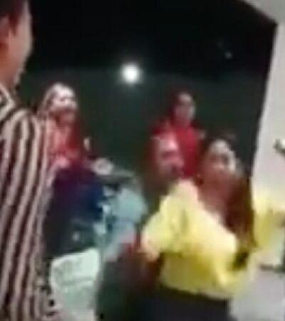 Cesan a funcionarios de Chiapas por hacer fiesta durante contingencia