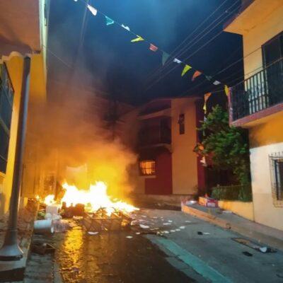 VIDEO   DICEN QUE EL COVID-19 NO EXISTE: Arman revuelta y saqueos en Chiapas