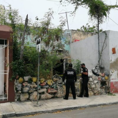 Pepenador pasó tres días con un cadáver en casa de Mérida