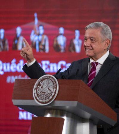 Planea AMLO reiniciar sus giras de trabajo y Quintana Roo está en su agenda