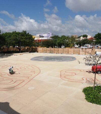 Plaza La Reforma, casi concluida en Cancún