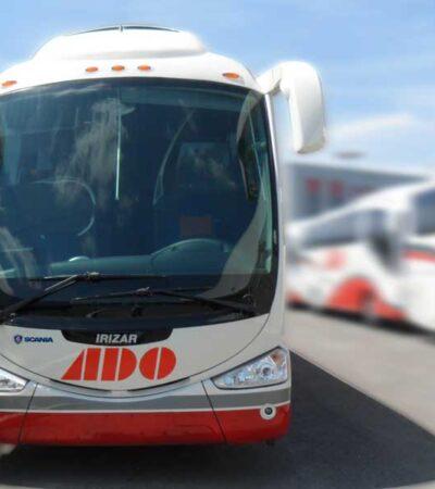 Elimina ADO corridas a Bacalar desde Cancún y Mérida, en vísperas del reinicio de actividades