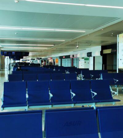 Aeropuertos acuerdan medidas para el reinicio de operaciones en junio