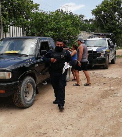 Sujetos asaltan a ciudadanos que iban a pagar la deuda que tiene su colonia con CFE, en la Región 203 de Cancún