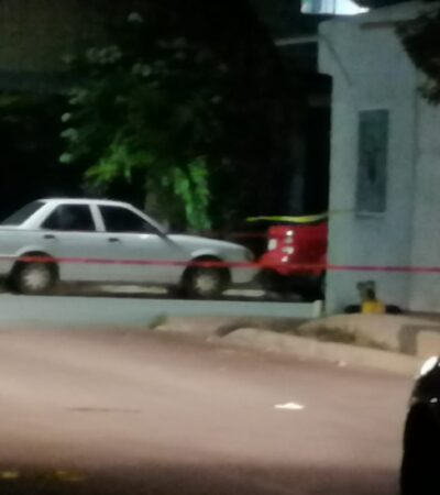 EJECUTAN A BALAZOS A UN HOMBRE EN VILLAS DEL SOL: Detienen a dos presuntos sicarios tras ataque a balazos en Playa