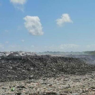 Cumple tres semanas incendio de basurero en Chetumal