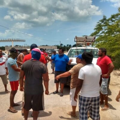 Se reunirá CFE con usuarios para hacer convenios, tras retención de empleados en Chiquilá