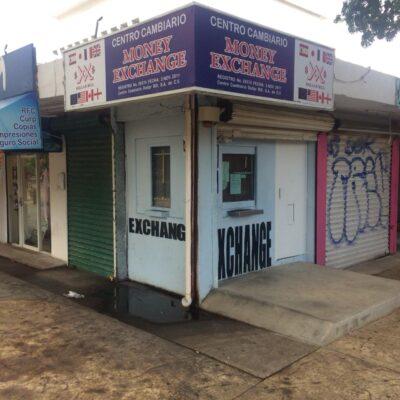 Sin arribo de divisas, cierran casas de cambio en Cancún