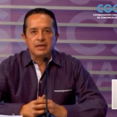 Define Carlos Joaquín que QR no regresará a clases presenciales y anticipa que turismo podría volver el 10 de junio