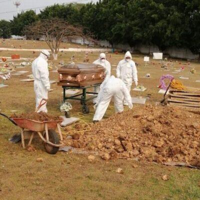 Enfrenta México 334 muertes por COVID-19 en las últimas 24 horas; acumula 5 mil 666