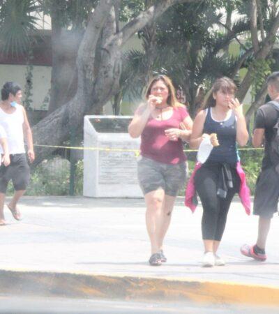 SIN MIEDO AL COVID-19 Y ESPERANDO LA REAPERTURA: Comienza a 'revivir' la zona de El Crucero en Cancún