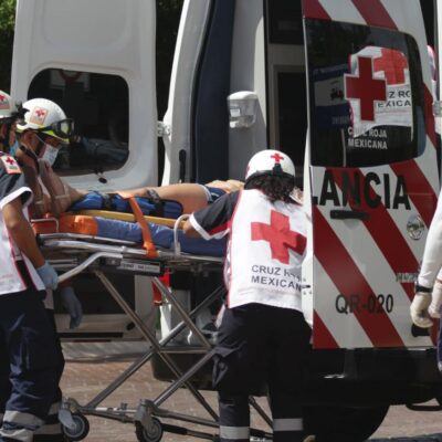 Disminuyen llamadas de emergencia a la Cruz Roja por aislamiento social en Cancún