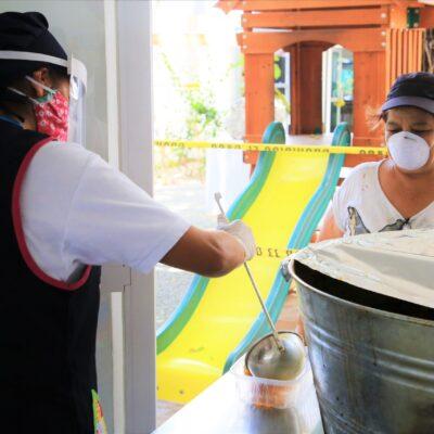 Causa críticas y reclamos anuncio de Alcaldes de cierre de comedores comunitarios en Playa del Carmen cuando viene lo más fuerte de la contingencia
