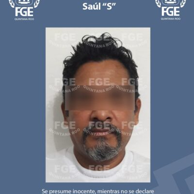 Captura FGE a imputado por violación de una menor de edad en Cancún