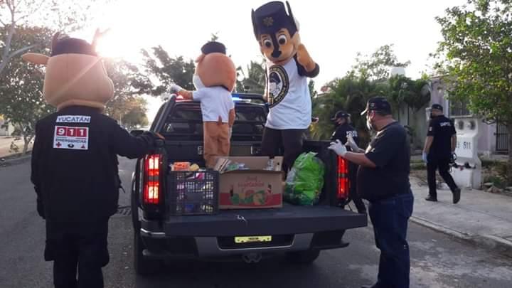 A pesar de los aumentos de Covid-19, en Yucatán salen a festejar el Día del Niño