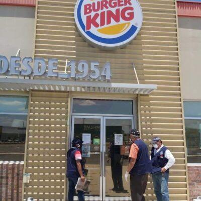 Clausuran Burger King en Mérida por permitir consumo en sus instalaciones, pese a restricciones sanitarias
