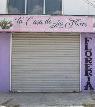 Florerías de Cancún se mantienen sin expectativas de ventas para el 10 de mayo