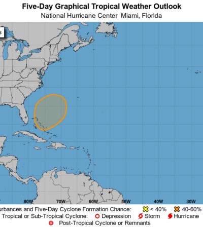 Surge potencial ciclón en el Atlántico