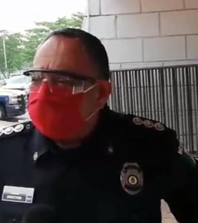 Aíslan a ocho policías en Cozumel por sospecha de COVID-19