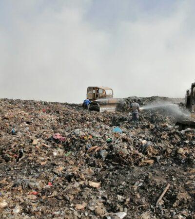 EXHIBEN REGIDORAS OMISIÓN DE OTONIEL: Plantean la urgencia de una declaratoria de contingencia o se destinen recursos para atender la problemática del relleno sanitario de Chetumal