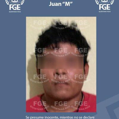 CAPTURAN A PRESUNTO SICARIO EN CANCÚN: Implica FGE a Juan 'M' en al menos cinco homicidios, entre ellos la matanza en restaurante de 'El Crucero'