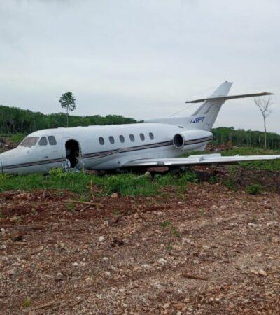 Hallan en Belice aeronave utilizada para transportar droga; hace unas horas encontraron otra en la comunidad de Morocoy