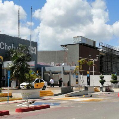 Reactiva operaciones el Aeropuerto Internacional de Chetumal, tras 60 días de parálisis aérea