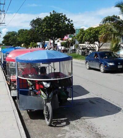 Vacíos legales en la Ley de Movilidad han generado anarquía en el servicio de mototaxis en BJ, afirma director de Transporte