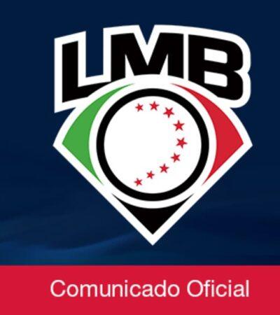 Anuncia LMB intención de iniciar temporada el 7 de agosto con solo 48 juegos