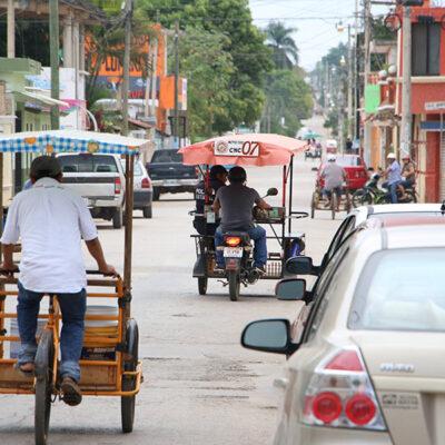 Mototaxis sólo podrán transportar a dos personas por unidad y con uso obligatorio de cubrebocas en José María Morelos