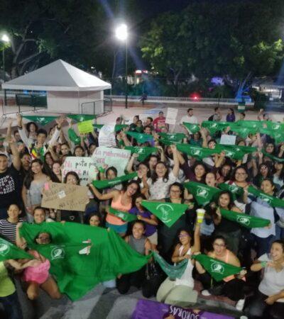 Colectivos exhortan a diputados a despenalizar el aborto en Quintana Roo