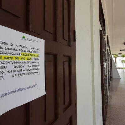 LA 'NUEVA NORMALIDAD' DE LA BUROCRACIA: Habrá aforo limitado en oficinas del Gobierno del Estado