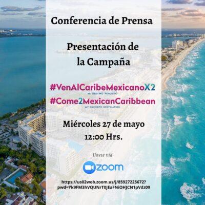 Alistan hoteles lanzamiento de campaña '2×1' en Cancún