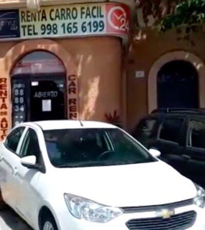 Arrendadoras de Quintana Roo capotean la crisis del coronavirus vendiendo sus flotillas de autos