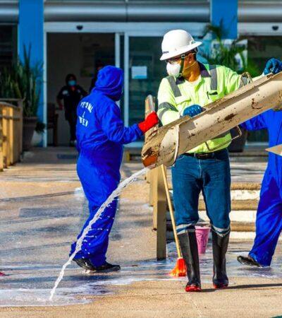 Aguakan, CEMEX y AliaRSE unen esfuerzos para sanitizar espacios públicos en hospitales de Quintana Roo