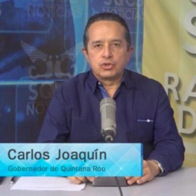 EN VIVO | PROGRAMA ESPECIAL: Carlos Joaquín actualiza información sobre el COVID-19 y medidas especiales para enfrentar contingencia