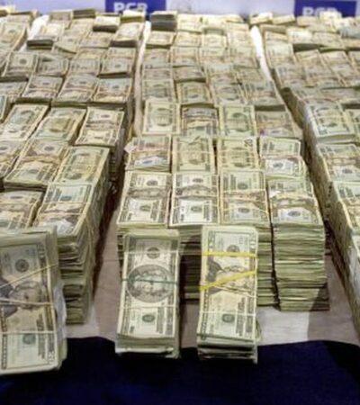 Detectan redes de empresas fantasmas para lavar dinero del narco en México