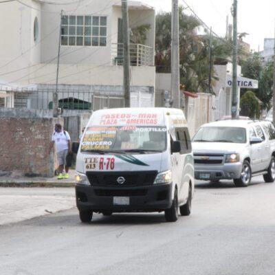 Se mantiene inactiva la mitad de unidades de TTE y un 80% de autobuses Maya Caribe en Cancún