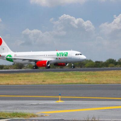 Disminuye 85% la demanda de viajes de VivaAerobus