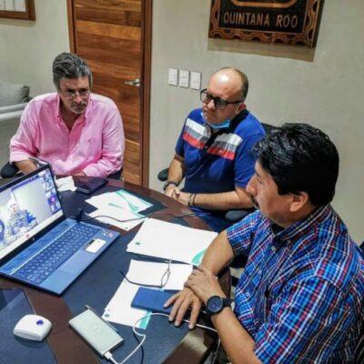 Arribarán embarcaciones sargaceras de la Secretaría de Marina a Tulum, anuncia Víctor Mas