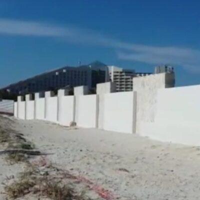 Falso que el Hotel Gran Solaris haya aprovechado la contingencia sanitaria para construir barda que roba vista al mar, dice Armando Lara De Nigris