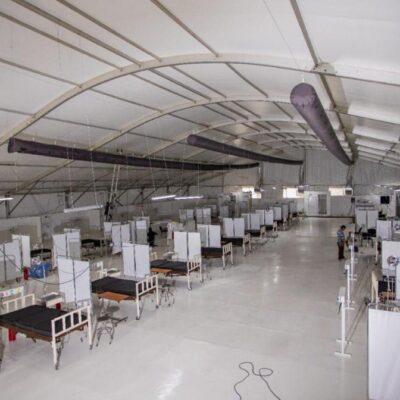 AUMENTA QR EN 700% CAMAS HOSPITALARIAS PARA COVID-19: Suman 890 unidades disponibles para atender a enfermos de coronavirus y en breve se habilitarán más