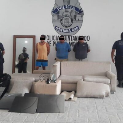 Detienen a destacado nadador profesional de Puerto Morelos por presuntamente sustraer objetos de un hotel en litigio